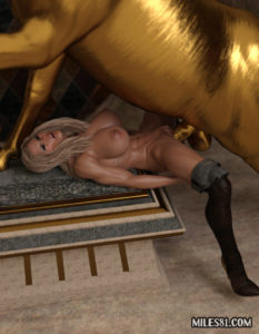 3d-porn-horse-fucking-amazon warrior in heras temple, rough and deep anal penetration