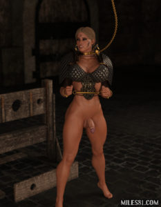 futa amazon princess in bondage
